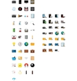 72 REALISTIC 3D ICONS vector image vector image
