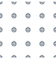 disco ball icon pattern seamless white background vector image vector image