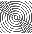 Double Spiral Background Whirlpool Optical vector image