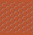 hexagonal paving slabs seamless pattern vector image vector image