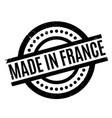 made in france rubber stamp vector image vector image