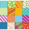 Quilt patchwork texture seamless pattern vector | Price: 1 Credit (USD $1)
