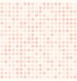 rose polka dot pattern seamless background vector image vector image