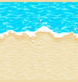 seamless simple pattern sea wave on the vector image
