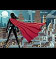 Super heroine watch 3 vector image