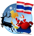 Merry Christmas Thailand vector image