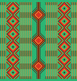 african kente cloth ethnic fabric seamless vector image