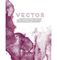 dark violet watercolor grunge texture abstract vector image