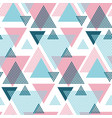 pink and blue elegant creative repeatable motif vector image vector image