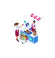 supermarket buy concept goods vector image vector image