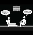 Psychiatrist Moses vector image