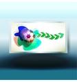 soccer design Backgrounds vector image