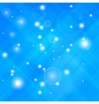 Blue Confetti Isolated vector image vector image