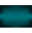 Dark Space Green Blue Background vector image vector image