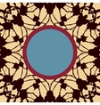 Mandala stylized Print with frame for text vector image vector image