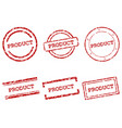product stamps vector image vector image