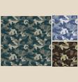 khaki seamless pattern camouflage texture vector image