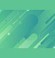abstract modern green color diagonal geometric vector image vector image