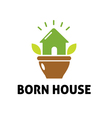 Born House Design vector image
