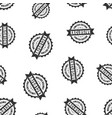 exclusive rubber stamp seamless pattern vector image vector image