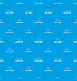 global network pattern seamless blue vector image vector image