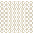 gold and white abstract diamond seamless pattern vector image vector image