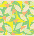 green seamless pattern colorful abstract vector image