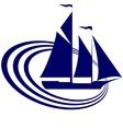 Sailing ship-19 vector image vector image