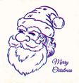 Santa CMYK vector image vector image