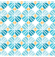 Seamless pattern of abstract flowers background vector image