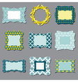 Set of Vintage Frames vector image