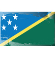 solomon islands national flag vector image vector image