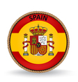 Spain Seal vector image