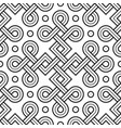 viking seamless pattern - engraved gold - squares vector image vector image