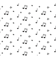 Abstract music pattern background for your design vector image vector image