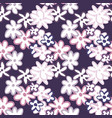 bright contrast floral seamless pattern vector image vector image