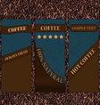 coffee-company-nice-skin vector image vector image