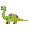 Dinosaur toy vector image