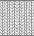 gray knit texture seamless pattern vector image