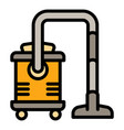 professional vacuum cleaner icon outline style vector image vector image