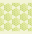 abstract blossom geometric seamless pattern vector image vector image