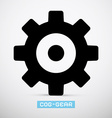 Cog - Gear Icon vector image vector image