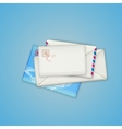 Envelopes and card vector image