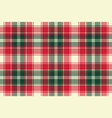 pixel plaid texture fabric seamless pattern vector image vector image