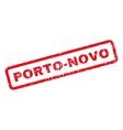 Porto-Novo Rubber Stamp vector image vector image