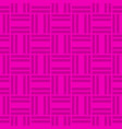 seamless pattern of striped squares vector image vector image