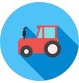 Tractor vector image vector image
