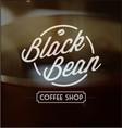 Vintage Coffee Logo 4 vector image vector image