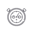 working date line icon concept working date vector image vector image