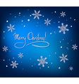 Christmas Abstract Card vector image